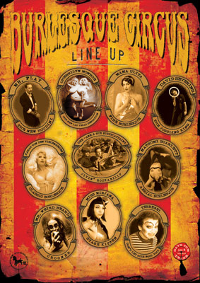 The International Burlesque Circus sold out 3rd edition - Heaven & Hell 11 February 2012 -
