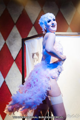Tallulah Wilde at the International Burlesque Circus Burlypicks Netherlands - the Dutch edition