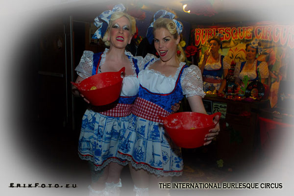 lovely candygirls at the International Burlesque Circus Burlypicks Netherlands - the Dutch edition