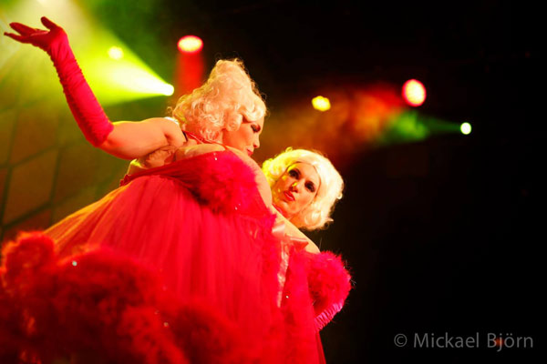 Cherrilyn Monroe from Las Vegas at the International Burlesque Circus- the Freaks & Geeks edition