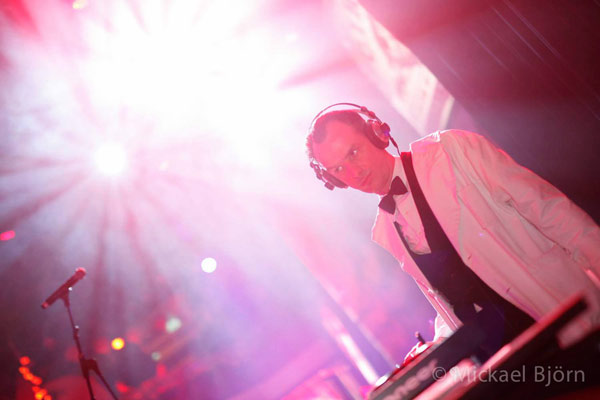 DJ Dr Hirschfeld at the International Burlesque Circus- the Freaks & Geeks edition