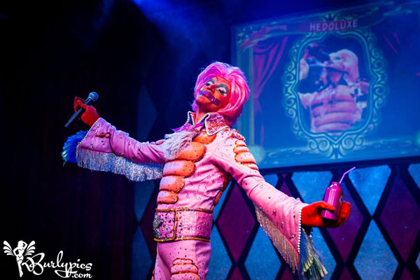 Hedoluxe at the International Burlesque Circus- the Freaks & Geeks edition