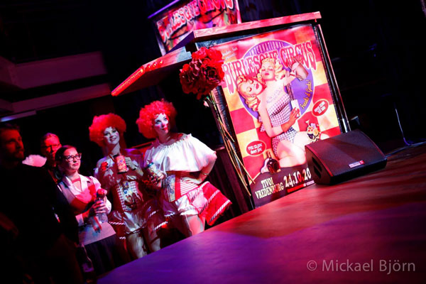 candygirls at the International Burlesque Circus- the Freaks & Geeks edition