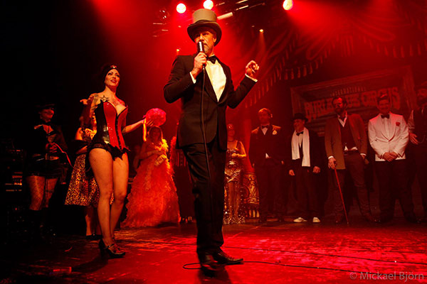 the Best Dredssed Contest  at the International Burlesque Circus, the Old Hollywood Glam edition
