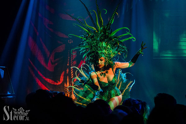 Ruby Colibri at the International Burlesque Circus, the Old Hollywood Glam edition