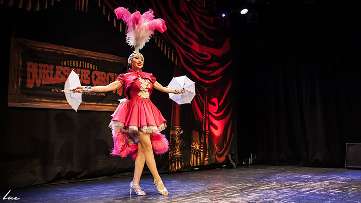 the Kings & Queens edition of the International Burlesque Circus at de Helling in Utrecht