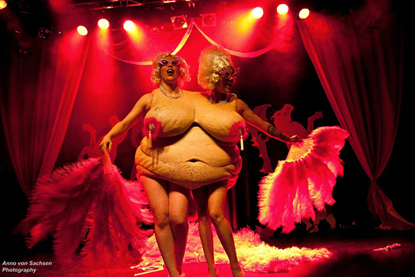 The International Burlesque Circus - the sold out 3rd edition: Heaven & Hell - Cherrilyn Monroe