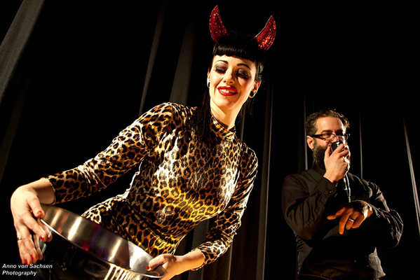 The International Burlesque Circus - the sold out 3rd edition: Heaven & Hell - charity tombola