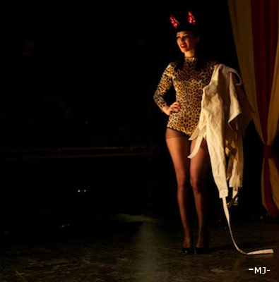 The International Burlesque Circus - the sold out 3rd edition: Heaven & Hell - stagekitten Miss Mirjana