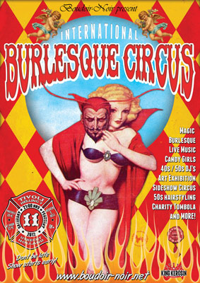 The International Burlresque Circus - the sold out  3rd edition: HEAVEN & HELL