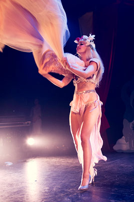 The International Burlesque Circus the 4th edition SAILOR - Julietta La Doll