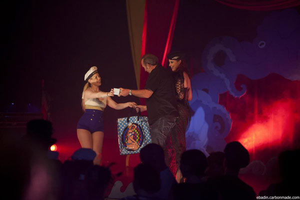 The International Burlesque Circus the 4th edition SAILOR - charity tombola