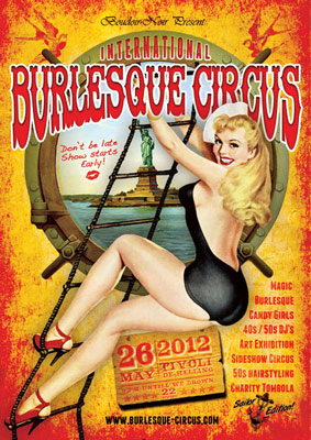 The International Burlesque Circus - 4th edition: SAILOR