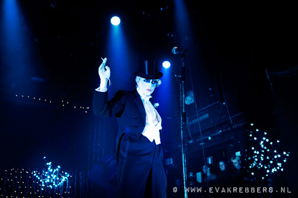 Mr Pustra at The International Burlesque Circus - The Glamour edition
