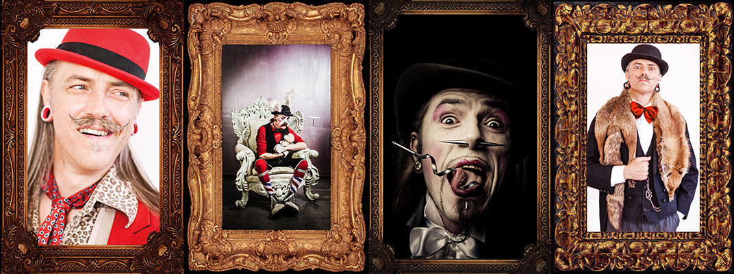 Always in our hearts and never to be forgotten - the founder of the International Burlesque Circus - HERR DOKTER ( † 21.October 2014)